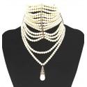 Christian Dior Couture Collana di perle in vetro. - Venduto
