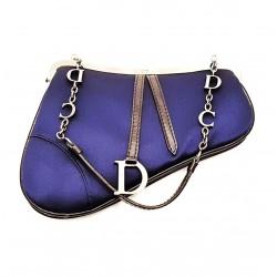 Christian Dior borsetta da sera Mini Saddle