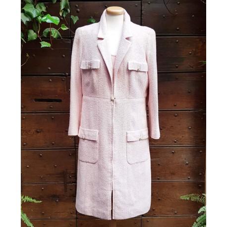 Chanel - Silk coat
