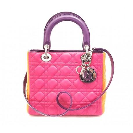 Christian Dior - Borsa Lady Dior Tricolor - Limited Edition