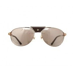 Cartier - Unisex Sunglasses, Santos Dumont Aviator frame