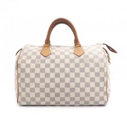 Louis Vuitton Speedy 35 Tela Damier Azur
