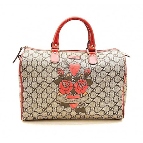 Gucci - Boston Tattoo Heart Joy Limited Edition Bag