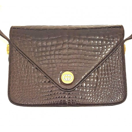 Gucci - Vinta bag in exotic leather