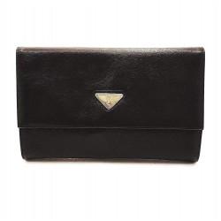 Yves Saint Laurent - Pochette nera in pelle Vintage