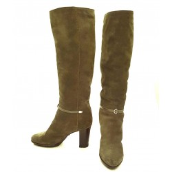 Sergio Rossi - Suede boots