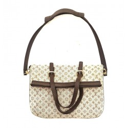 Louis Vuitton - Borsa Francoise Mini Lin Monogram Canvas