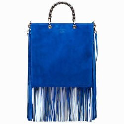 Gucci - Fringe model suede shopper bag