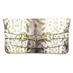 Gucci - Pochette Bright Bit texture esotica Oversize