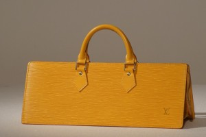 Borsa ocra Louis Vuitton