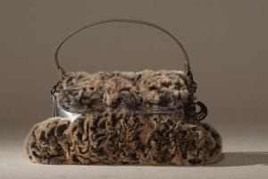 Borsa in pelliccia Fendi